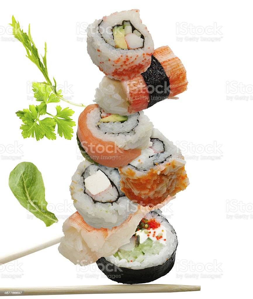 Sushi Assortment stock photo