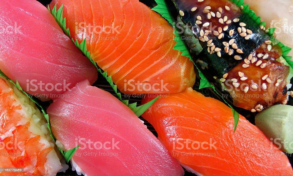 Sushi Background royalty-free stock photo