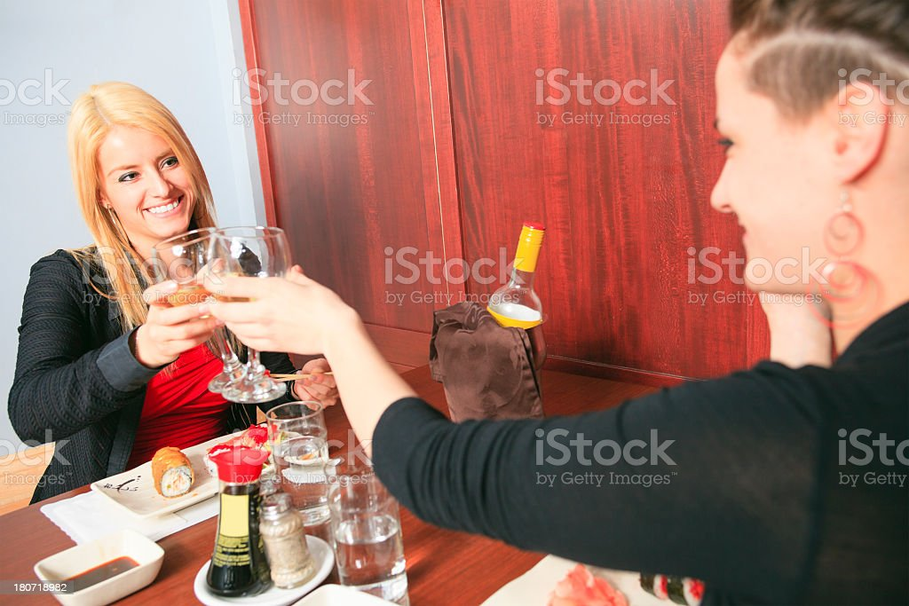 Sushi Bar - Great Time Diner royalty-free stock photo