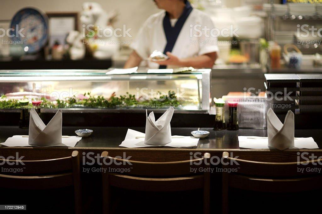Sushi Bar warten auf Kunden – Foto
