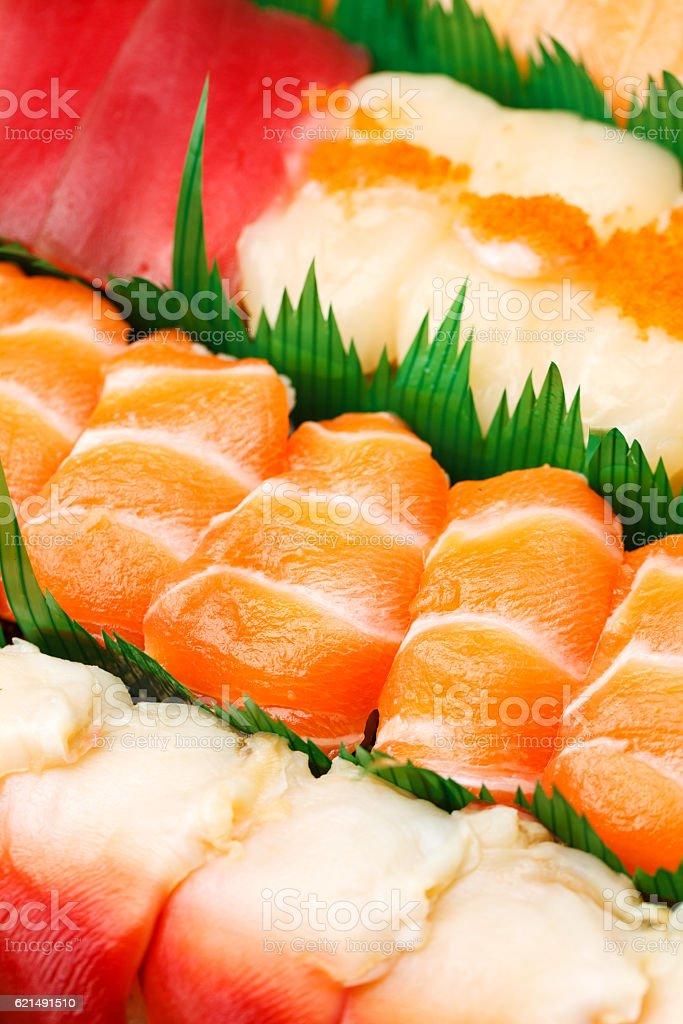 Boîte de Sushi bento photo libre de droits