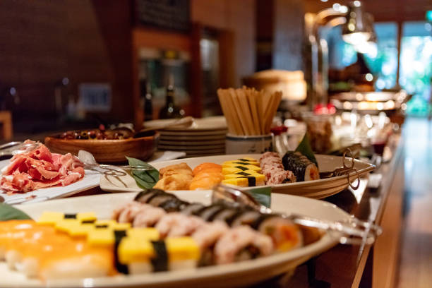 sushi-Büfett – Foto