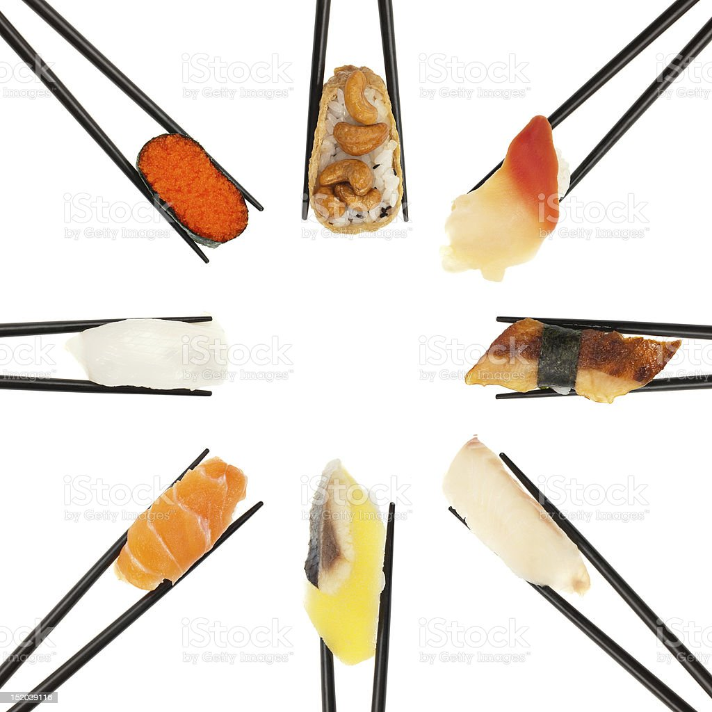 Sushi Circle royalty-free stock photo