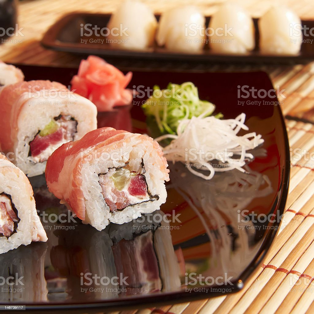 Sushi Close-Up royalty-free stock photo