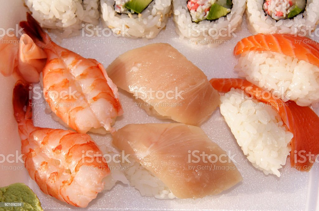 Sushi Combo #4 royalty-free stock photo