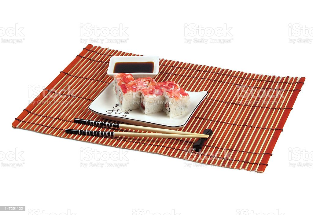 sushi dinner royalty-free stock photo