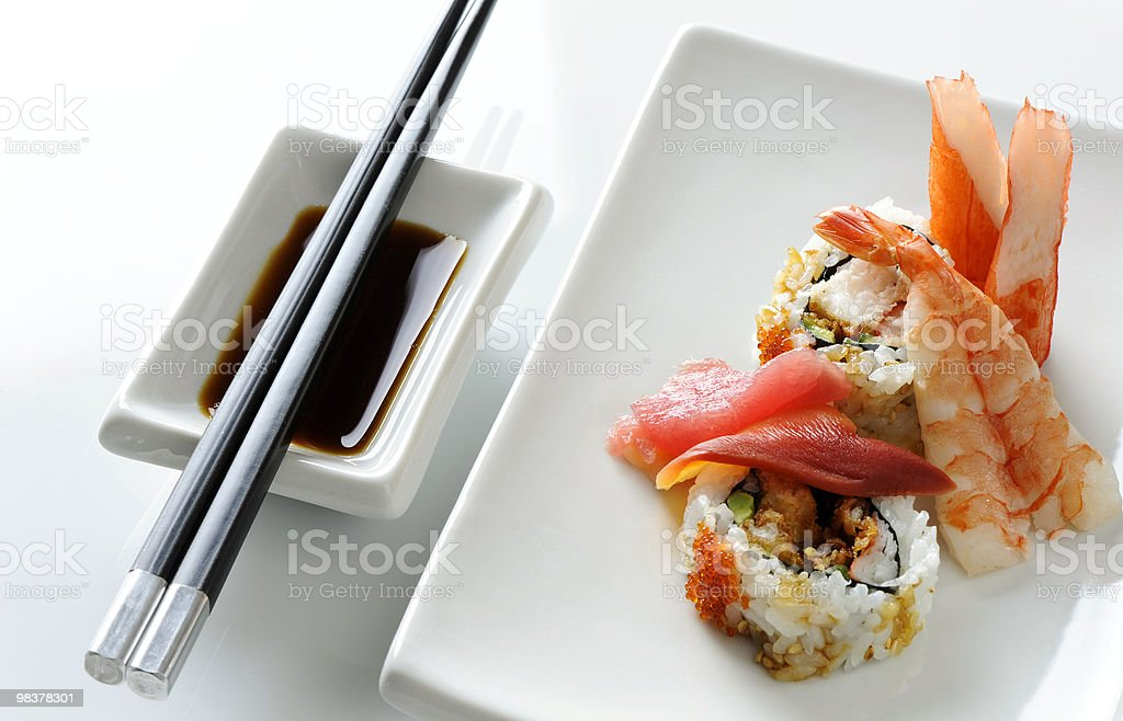 Sushi Dinner royalty-free stock photo