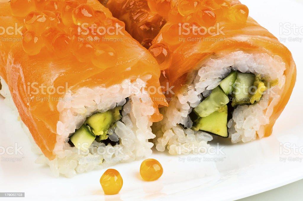 sushi Golden dragon royalty-free stock photo