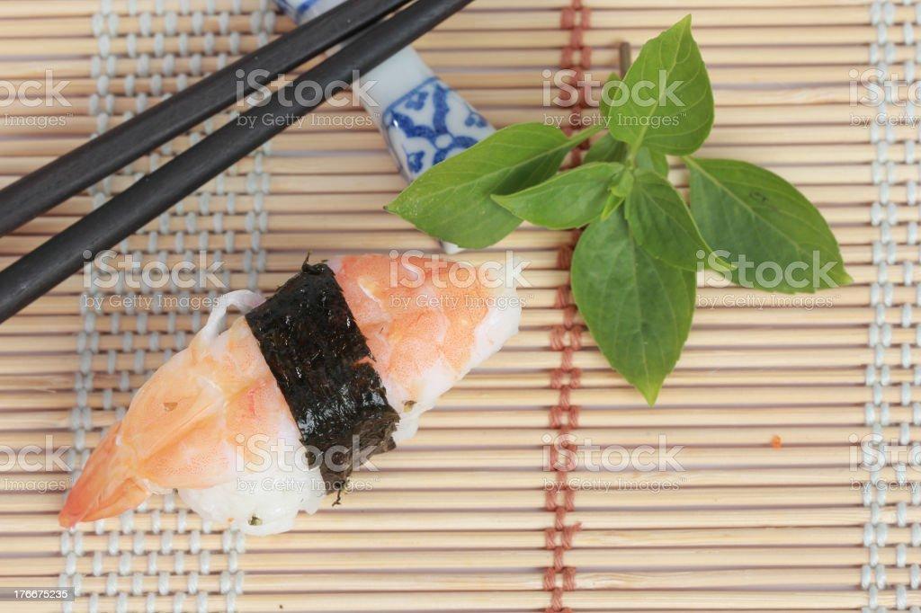 sushi Japanese food royalty-free stock photo