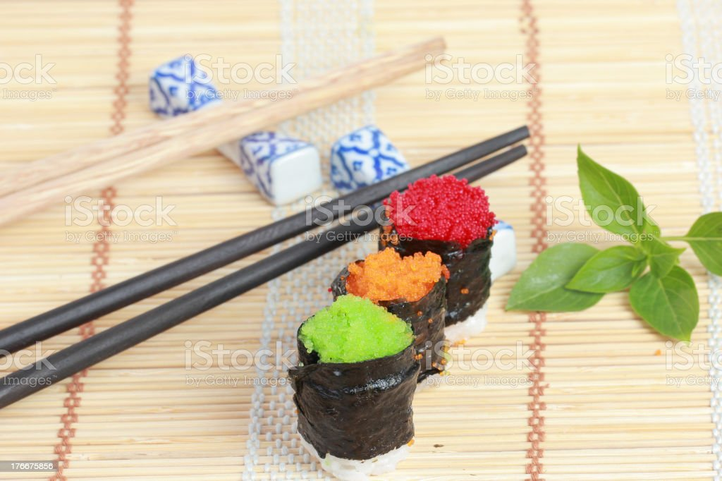sushi Japanese food royalty-free stock photo