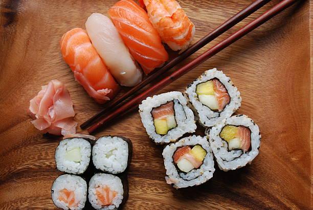 Sushi - Japonese Food stock photo