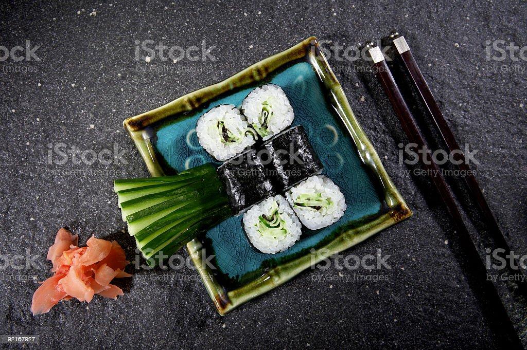 Sushi maki royalty-free stock photo