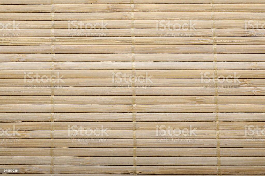 Sushi mat background royalty-free stock photo