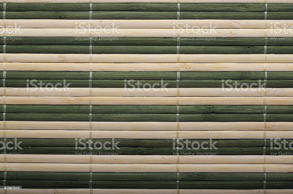 Sushi mat background royalty-free stock photo