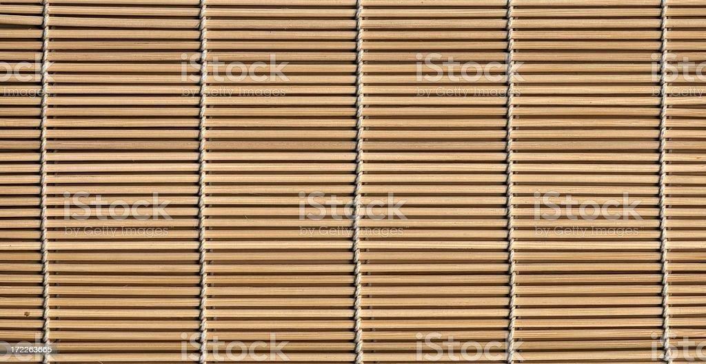 sushi mat stock photo