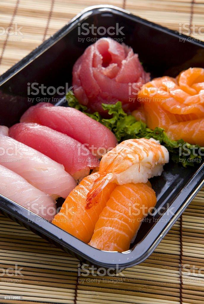 sushi nigiri royalty-free stock photo