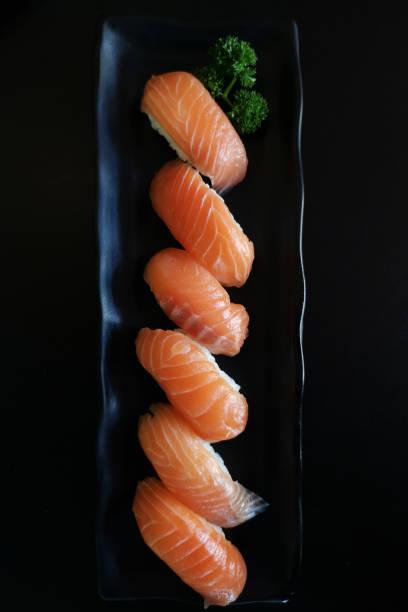 Sushi of salmon – zdjęcie
