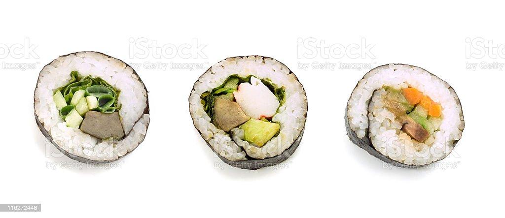 Sushi (XXL size) royalty-free stock photo