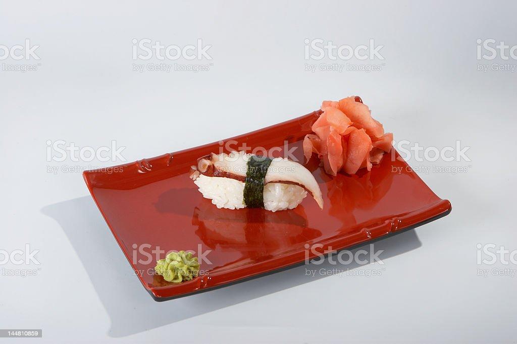 Sushi. royalty-free stock photo