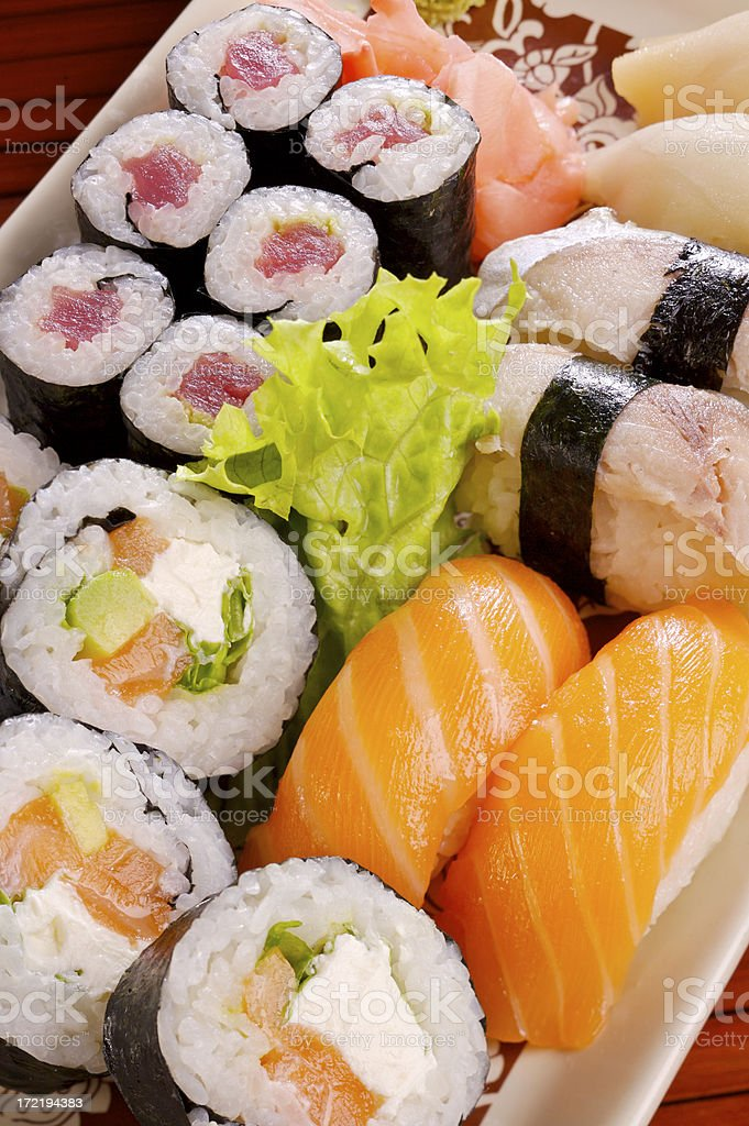 Sushi  royalty-free stock photo