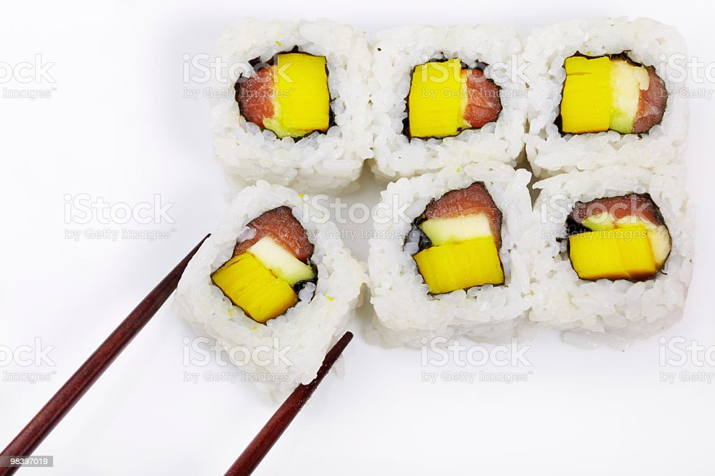 Sushi foto stock royalty-free