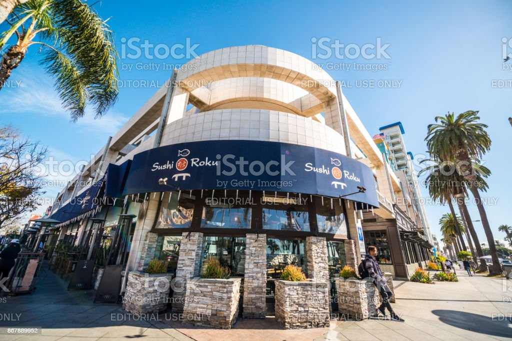 Sushi Roku in der Ocean Avenue in Santa Monica, USA – Foto