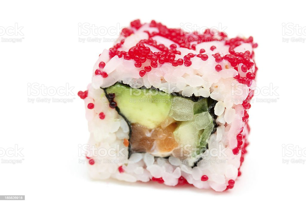 Sushi roll Alaska royalty-free stock photo
