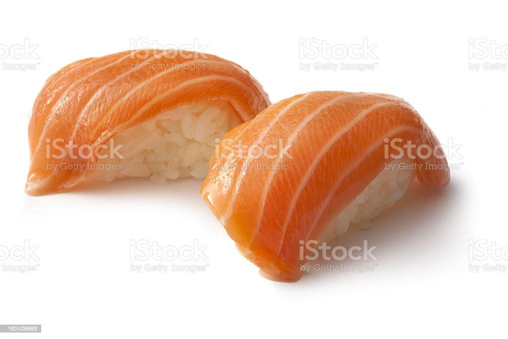 Sushi: Salmon Sake stock photo