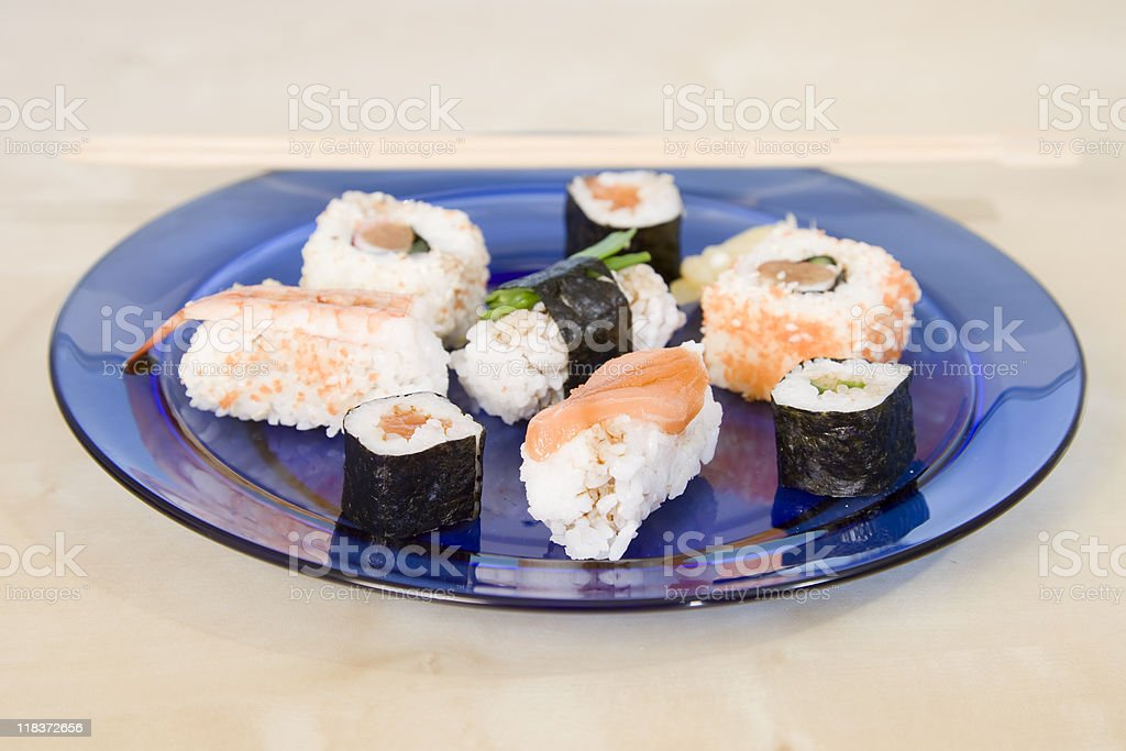 Sushi Series royalty-free stock photo