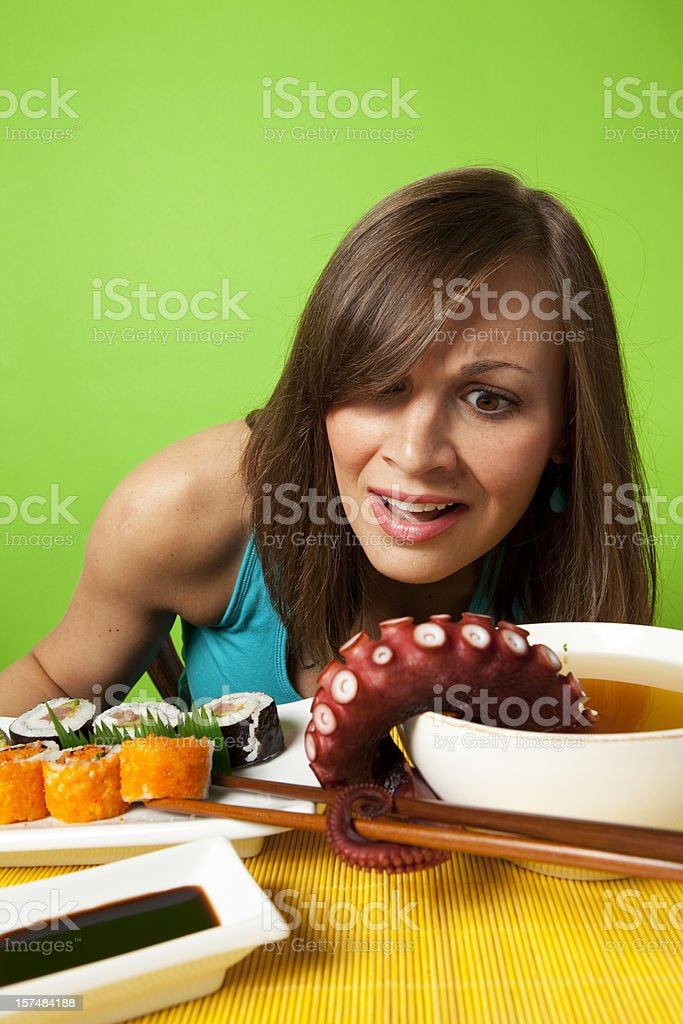Sushi - Surreal Meal royalty-free stock photo