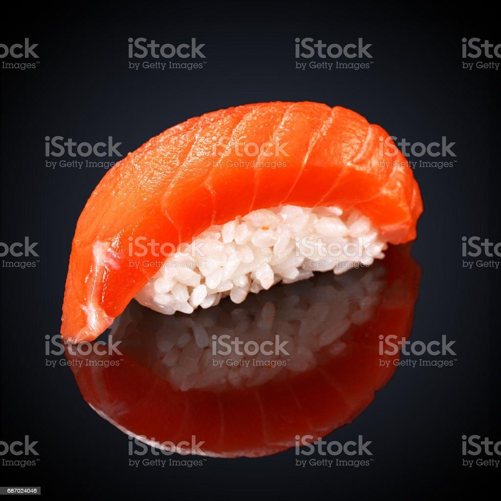 Sushi Syake Philadelphia mit Lachs Lizenzfreies stock-foto