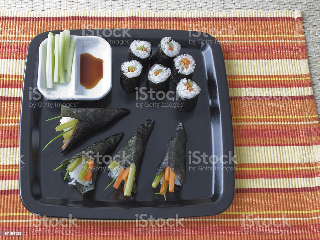 Sushi Variations royalty-free stock photo