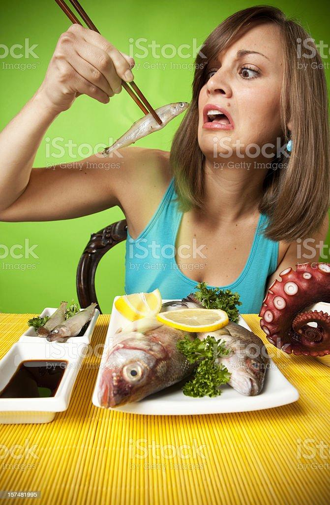 Sushi - Very Raw royalty-free stock photo