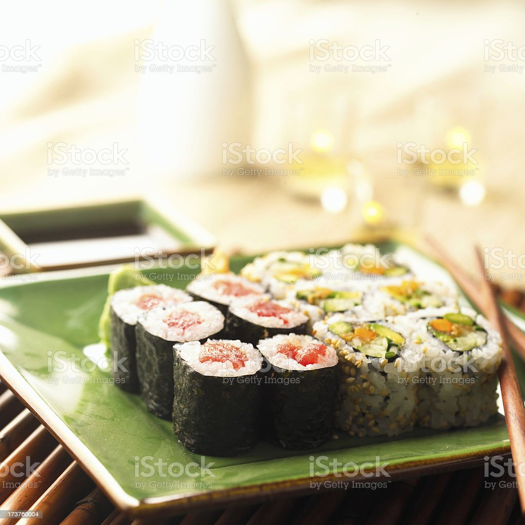 Sushi502 royalty-free stock photo