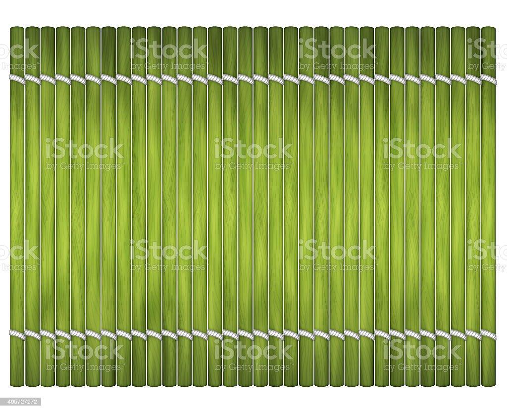 Sushi_mat stock photo