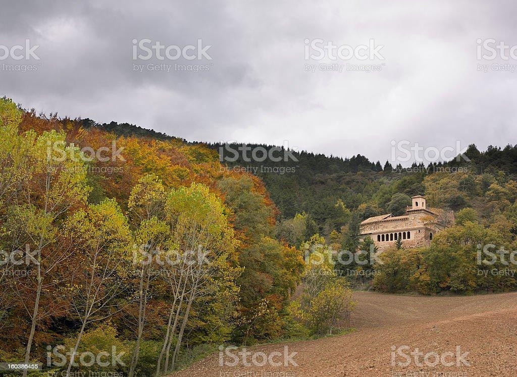 Suso Monastery stock photo