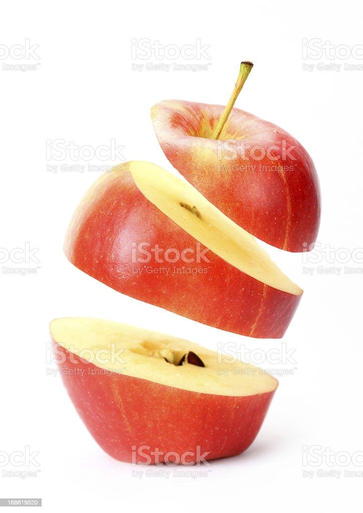 suspended たアップル ストックフォト