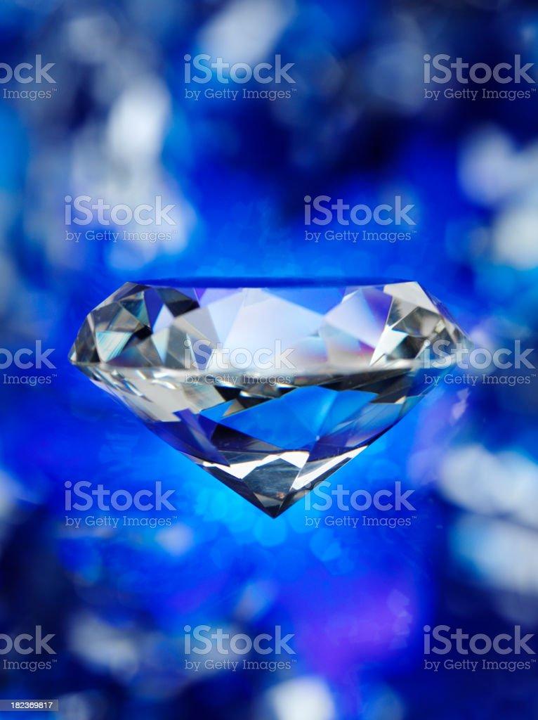 Suspended Diamond royalty-free stock photo