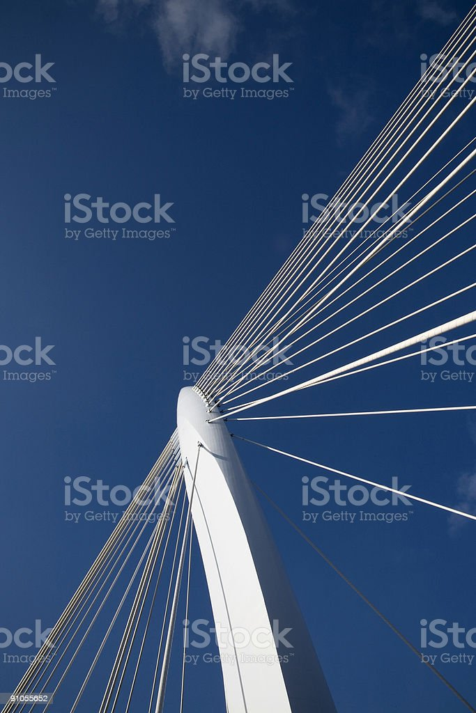 Suspension bridge 11 royalty-free stock photo