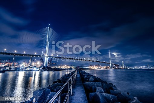 Asia, China - East Asia, Hong Kong, Container Ship, Bay of Water