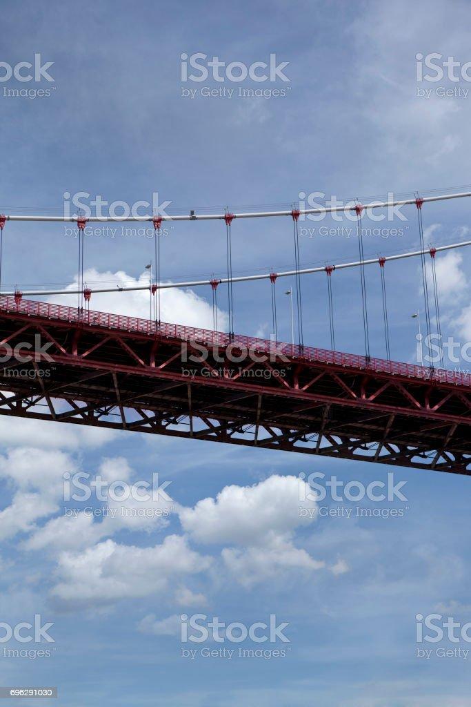 Pont suspendu à Bordeaux - Photo