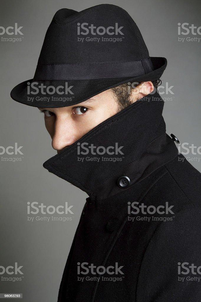 Sospetto di spionaggio foto stock royalty-free