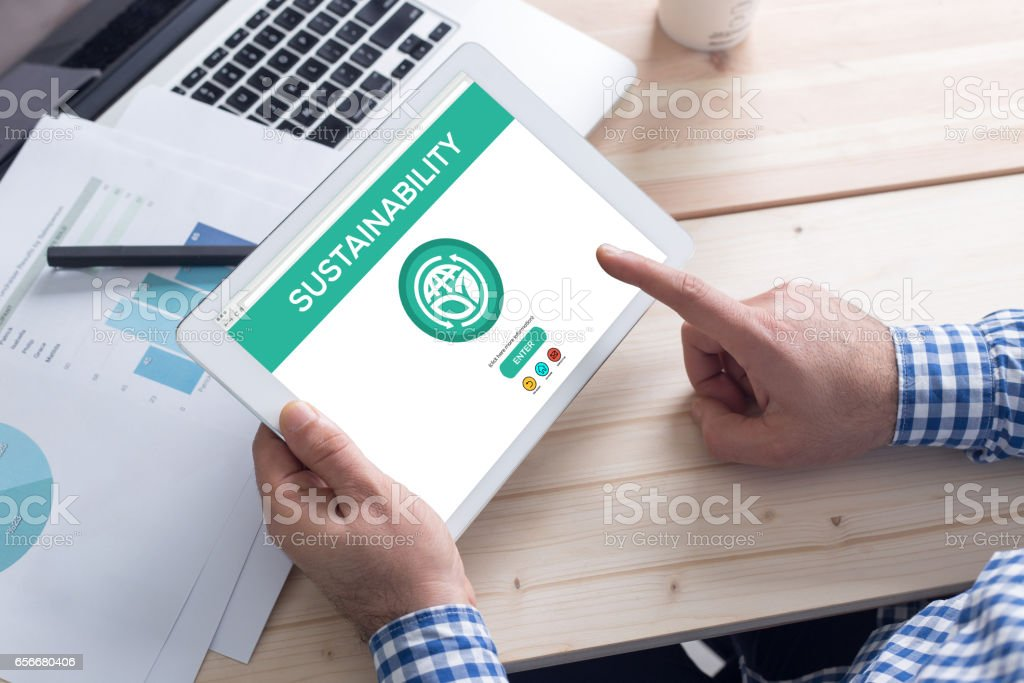 Sustainability Concept stock photo