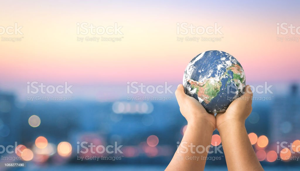 Concepto de comunidad sostenible - foto de stock