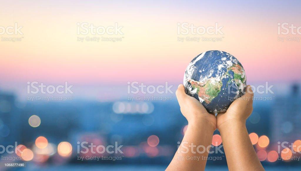 Sustainable community concept stock photo