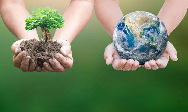 Sustainable development goals (SDGs) concept stock photo