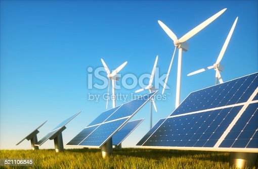 istock Sustainable energy concept 521106845