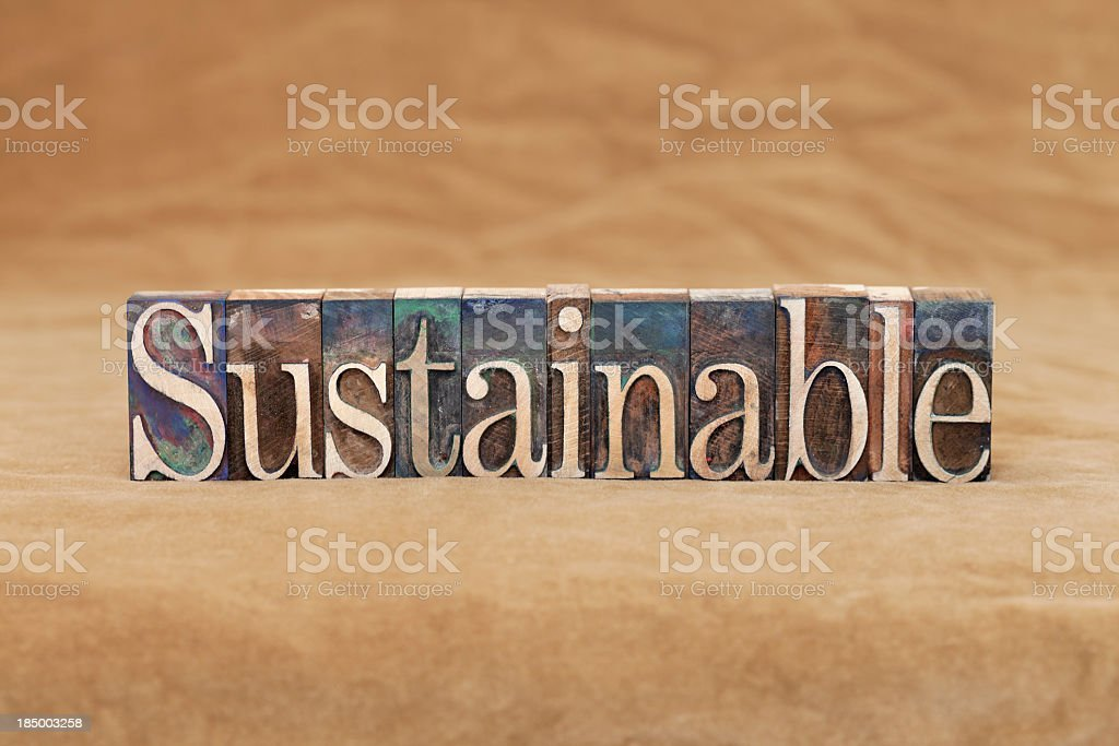 Sustainable royalty-free stock photo