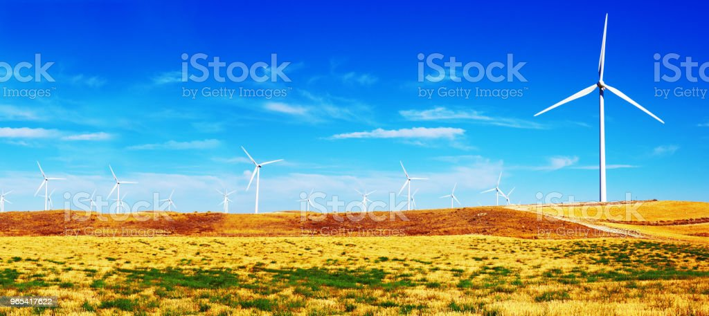 Sustainable technology and ecology royalty-free stock photo