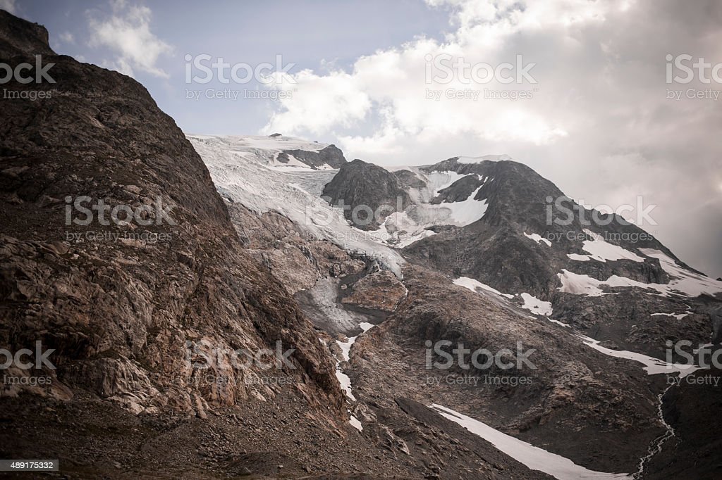 Susten Pass Switzerland Alpes stock photo